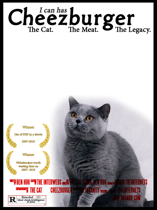 I can has Cheezburger - the movie!