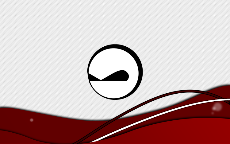 Personal Logo: Red Waves