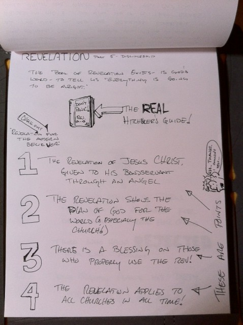 Revelation Notes (Note taking) 1